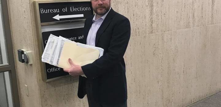 Matt Longjohn Submits Most Signatures of Any Candidate